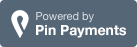 Powered by pin payments